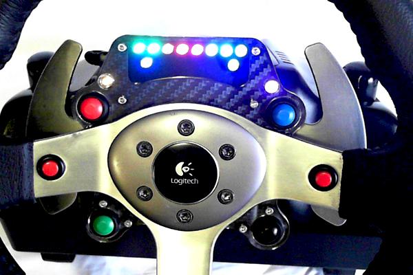 SRH Logitech G25/G27 GT Wheel Plate – VirtualR net – 100