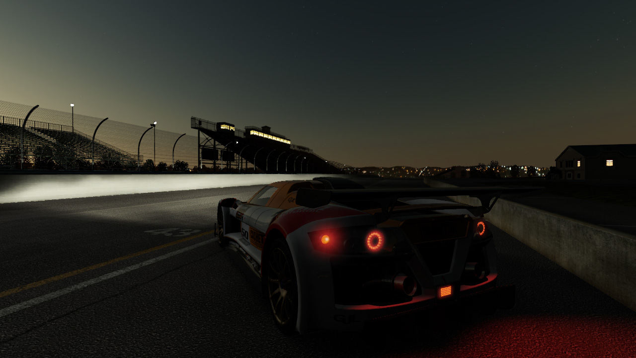 Project Cars New Night Lighting Previews