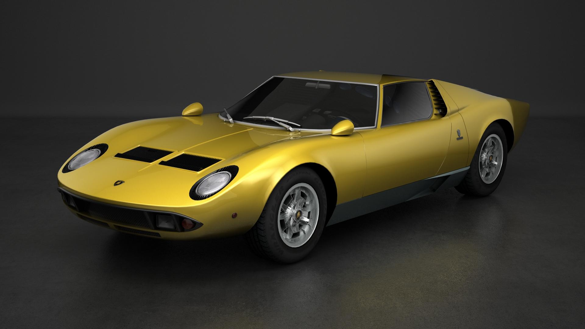 Mak Classic Cars Mod Lamborghini Miura Renders