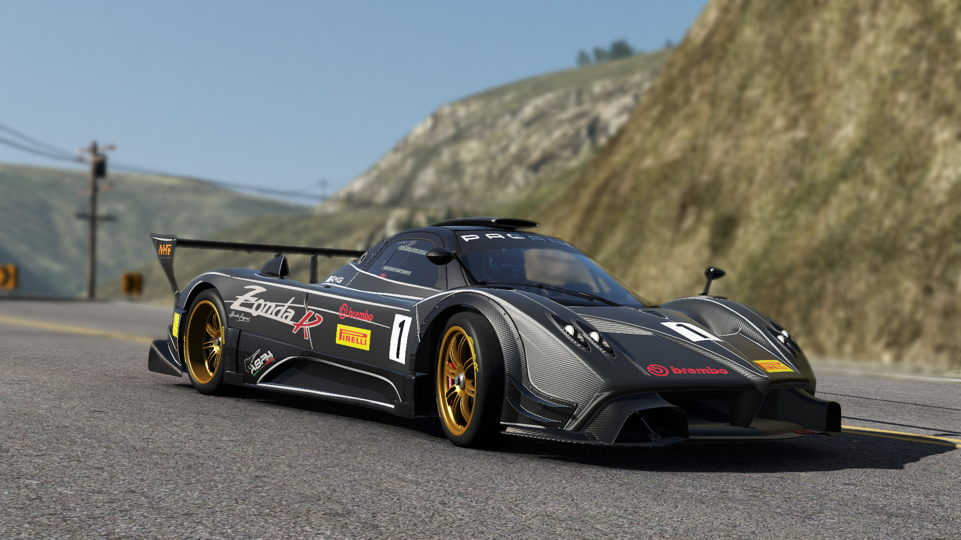 three paganis coming to project cars sim racing news. Black Bedroom Furniture Sets. Home Design Ideas