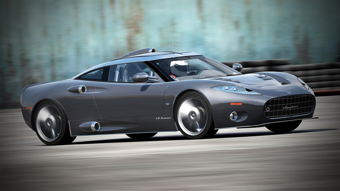 2012 Spyker C8 Aileron