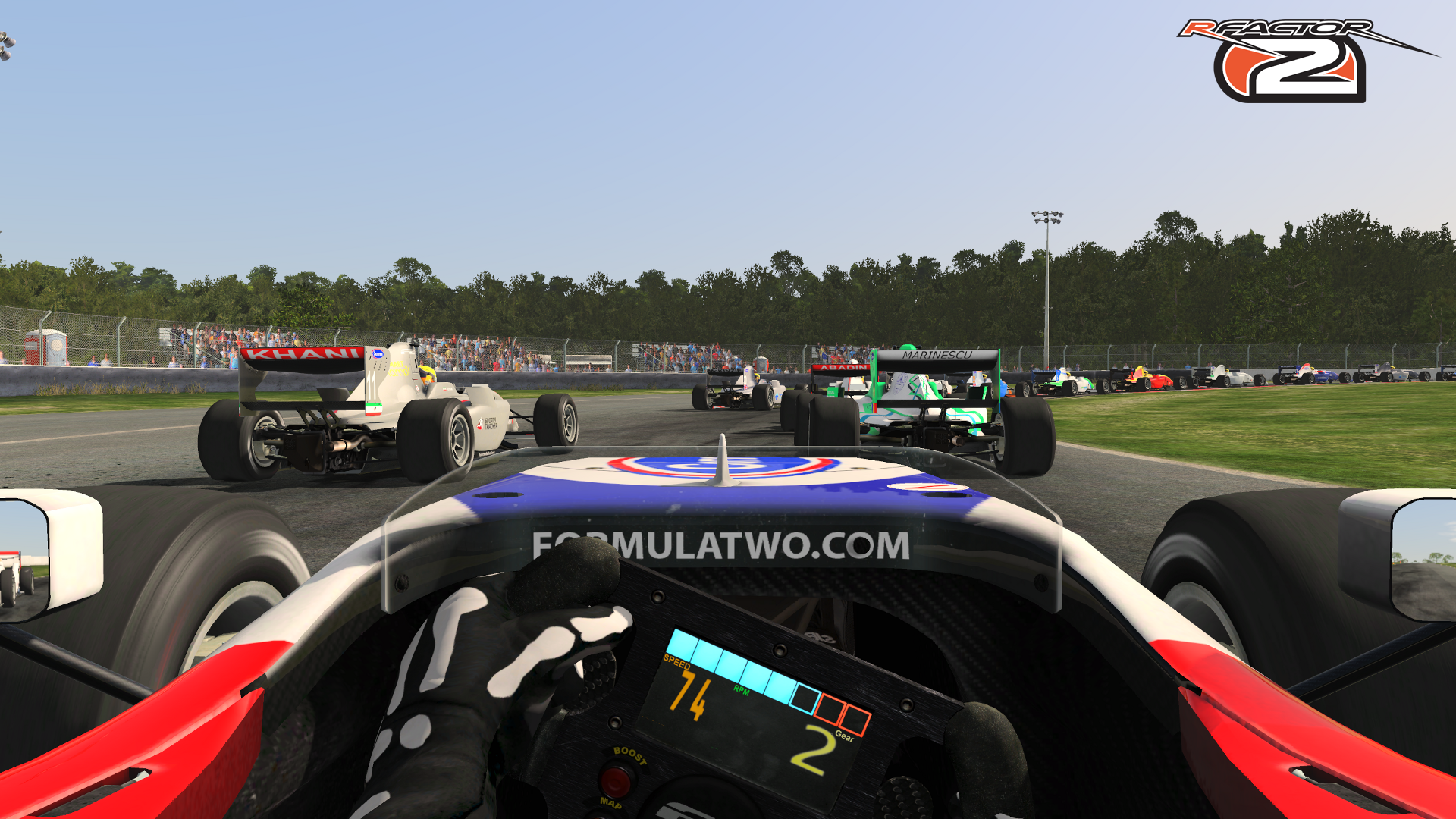 White Tire Paint >> rFactor 2 – Formula Two Car Released – VirtualR.net – 100% Independent Sim Racing News