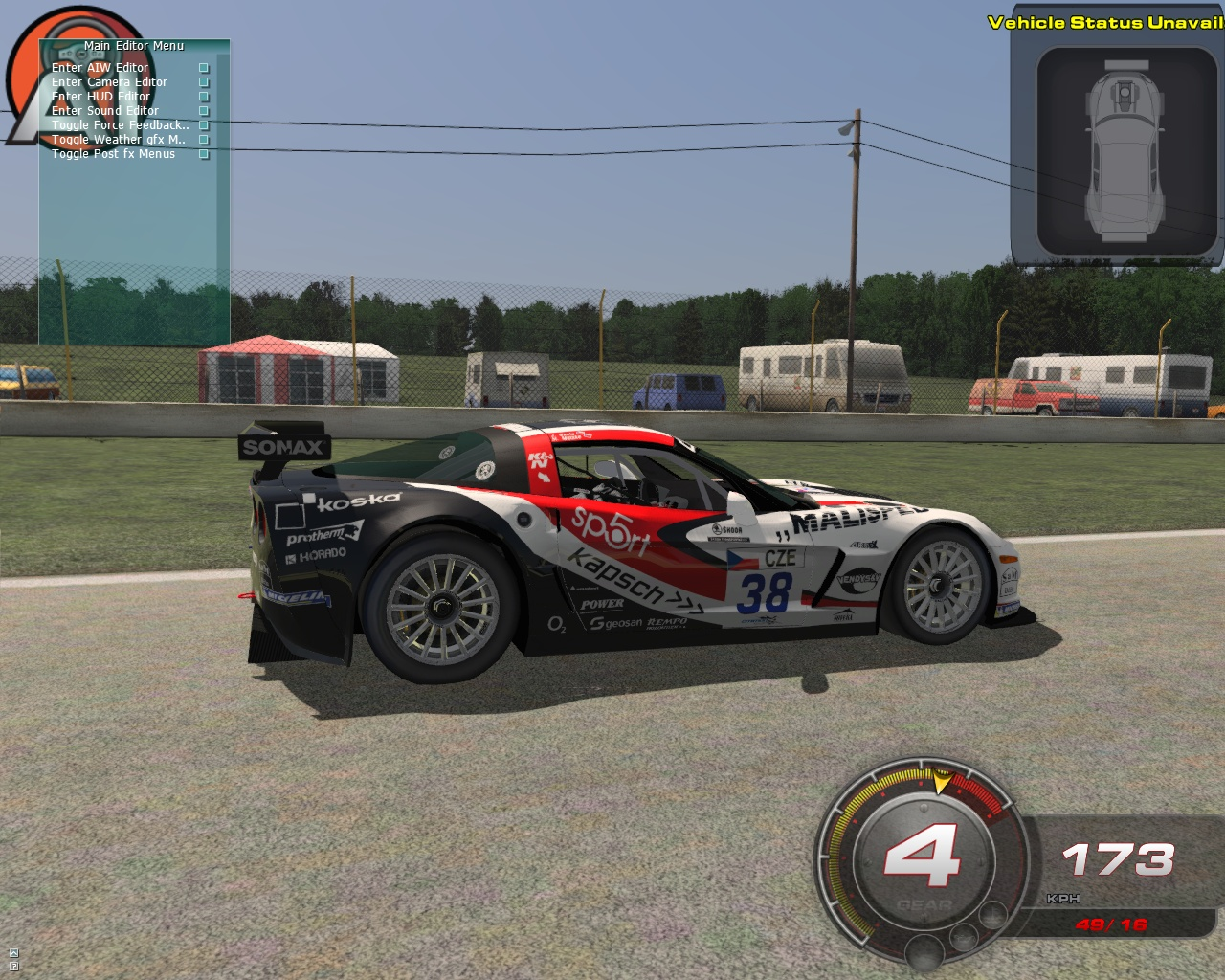 fia gt3 for rfactor 2 new preview sim racing news. Black Bedroom Furniture Sets. Home Design Ideas
