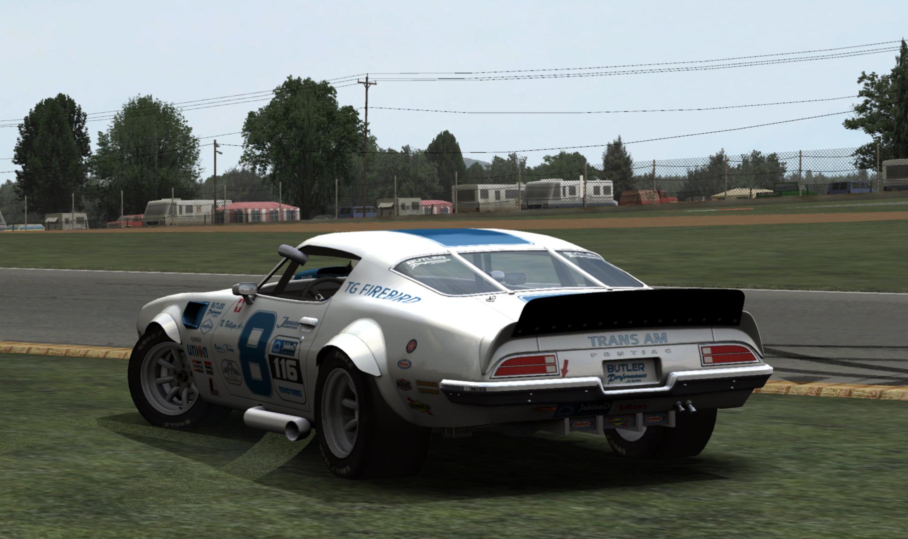 Pontiac Firebird by Team 21 – New In Game Previews – VirtualR