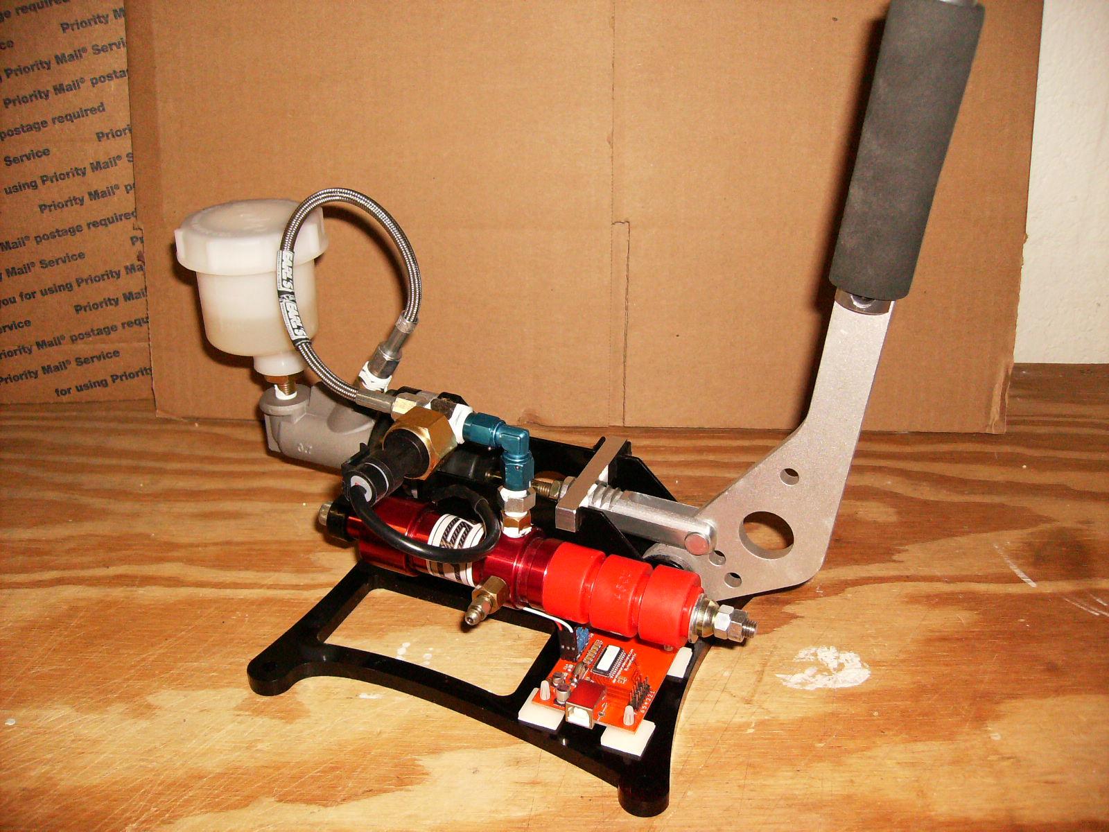 Derek Speare Designs – Hydraulic Handbrake – VirtualR net – 100