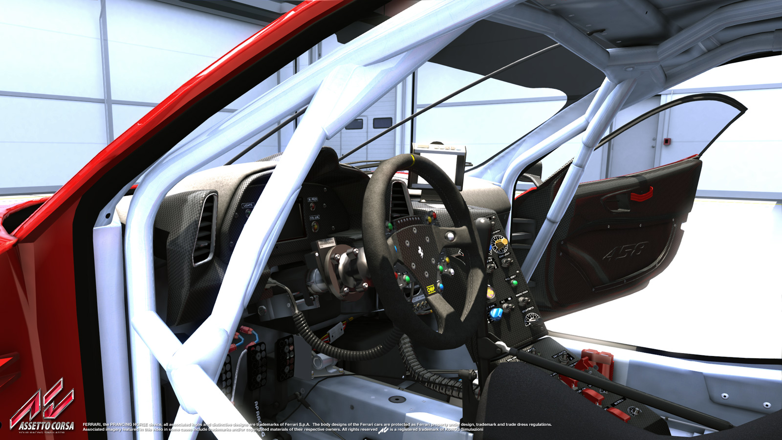 Assetto Corsa New Ferrari F458 Gt2 Previews Sim