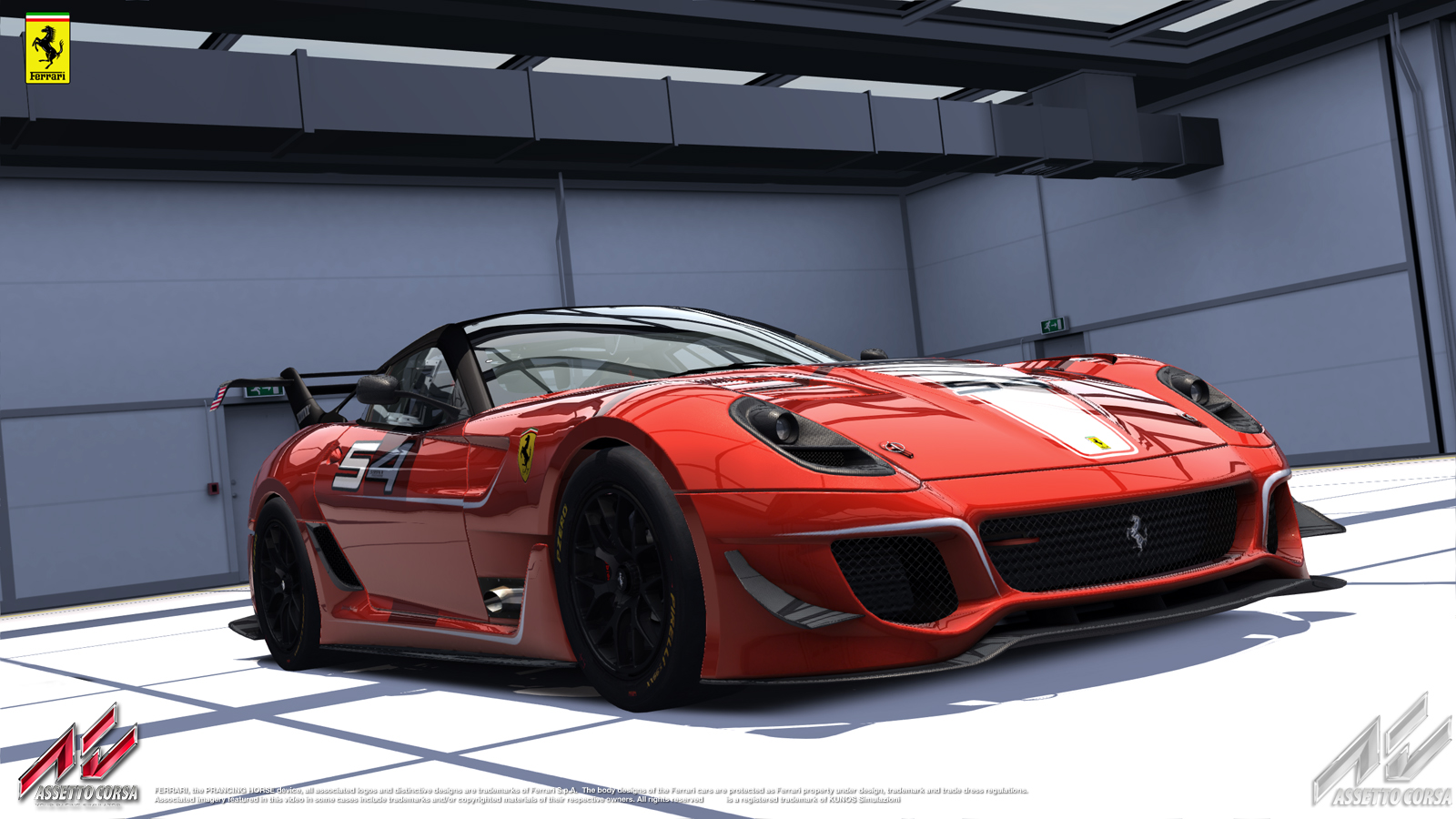 assetto corsa – ferrari 599xx evo revealed – virtualr – sim