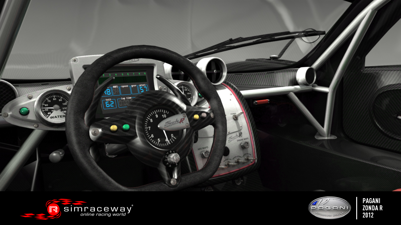 Only For Cars Pagani Zonda R Interior