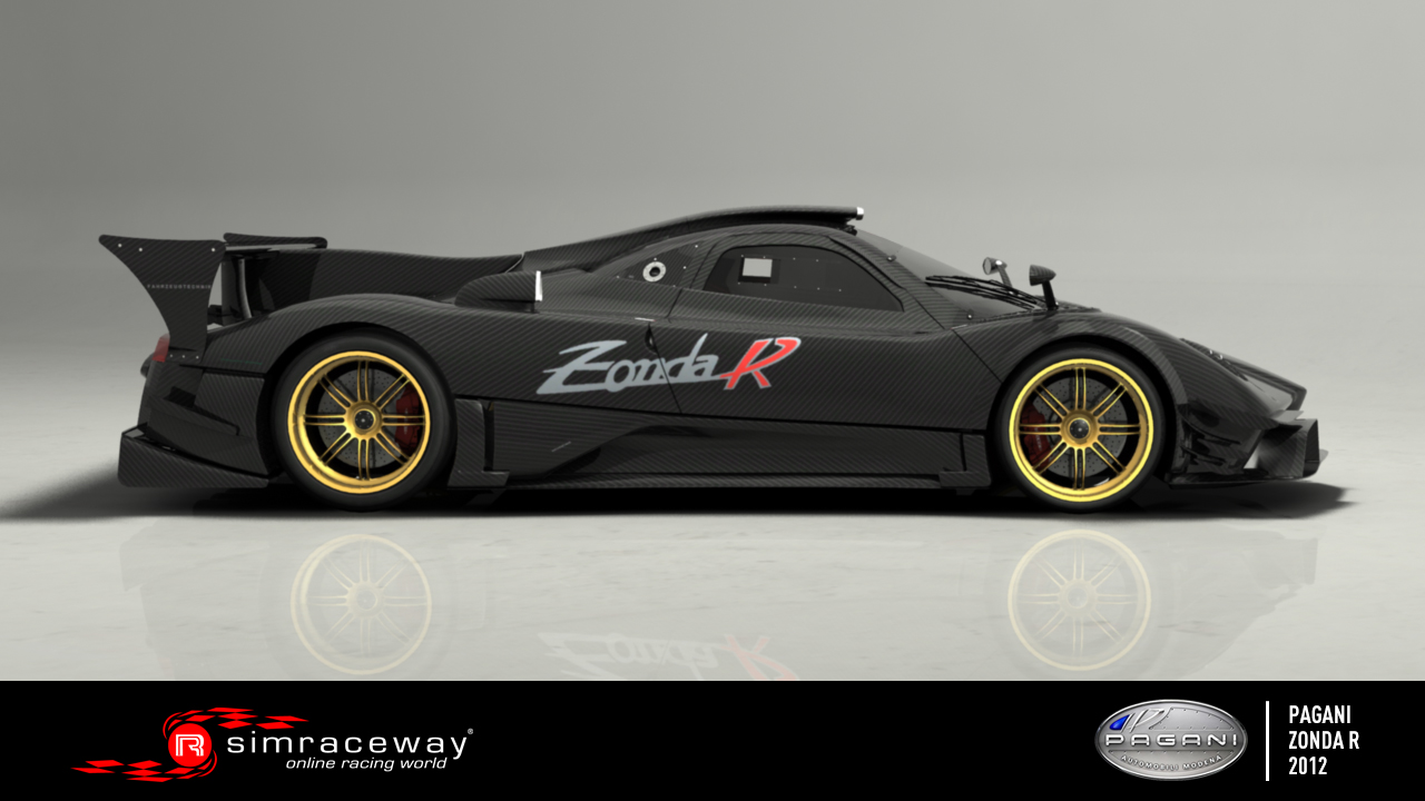 simraceway pagani zonda r available 100 independent sim racing news. Black Bedroom Furniture Sets. Home Design Ideas