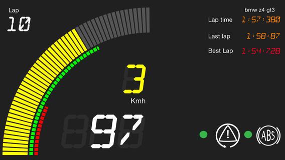 Assetto Corsa – AC Dashboard for iOS – VirtualR net – 100