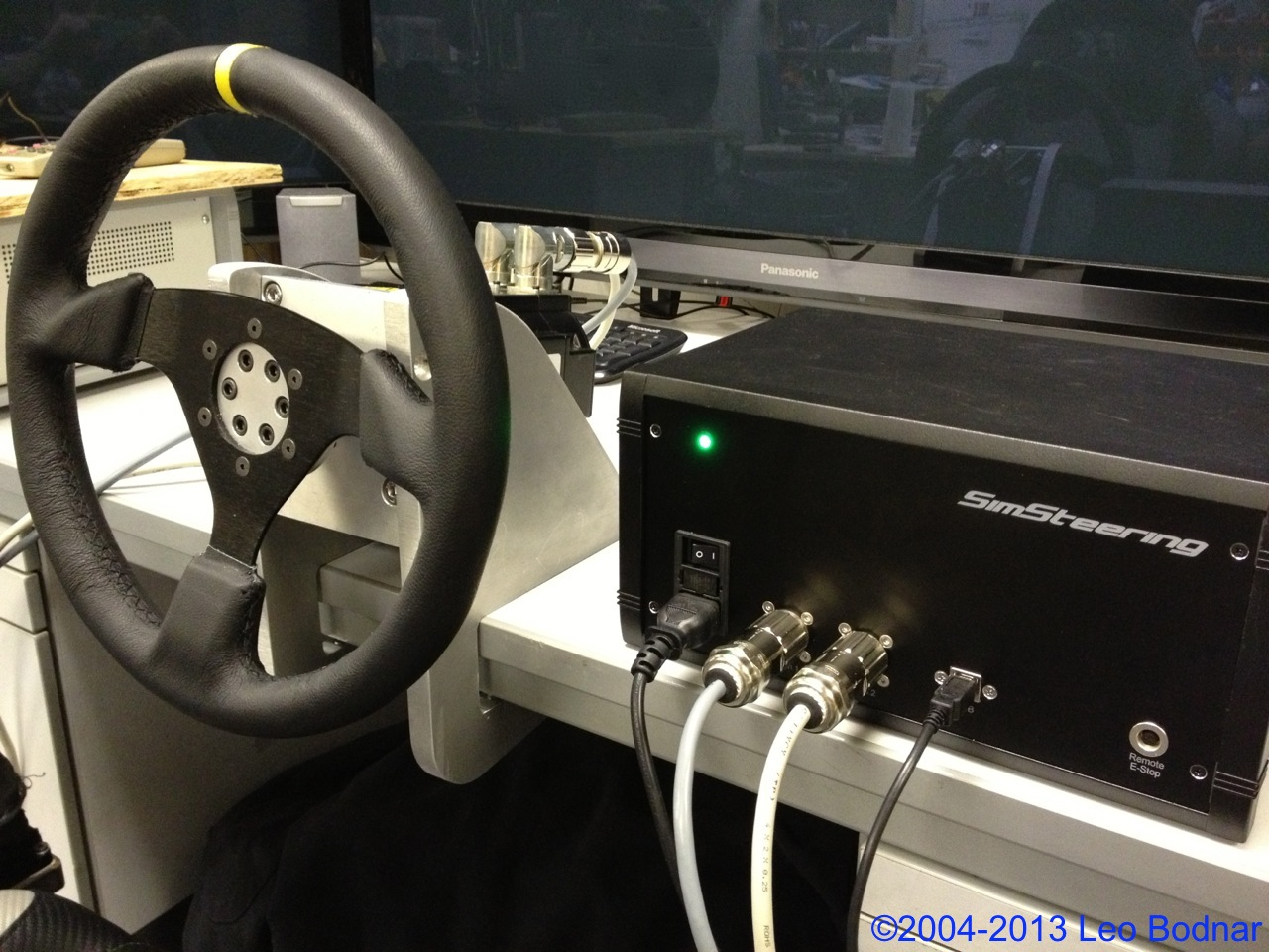 Simsteering Wheel By Leo Bodnar Released Virtualr Net
