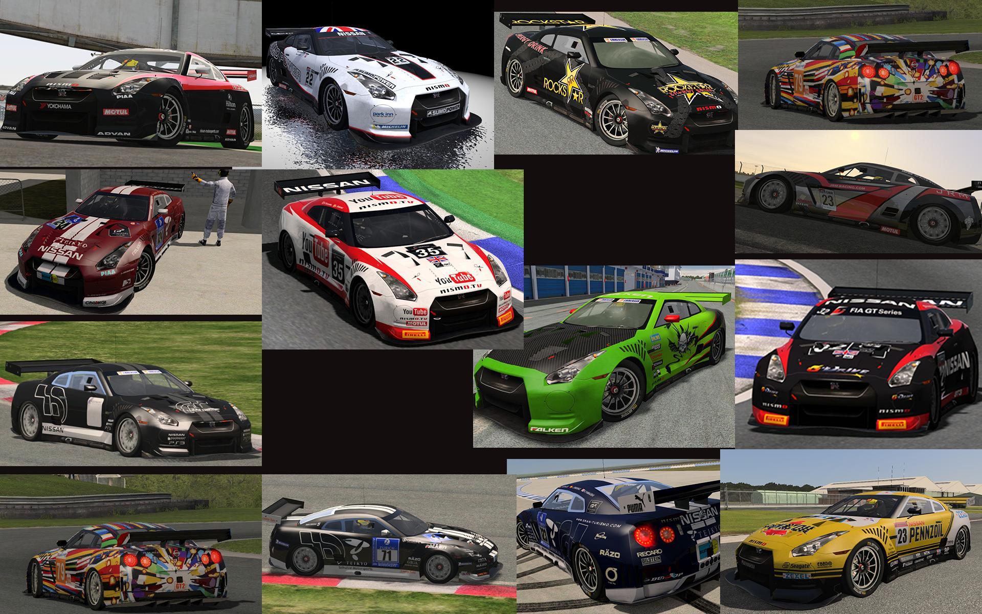 GT Cars Skin Packs for rFactor 2 – Released – VirtualR net
