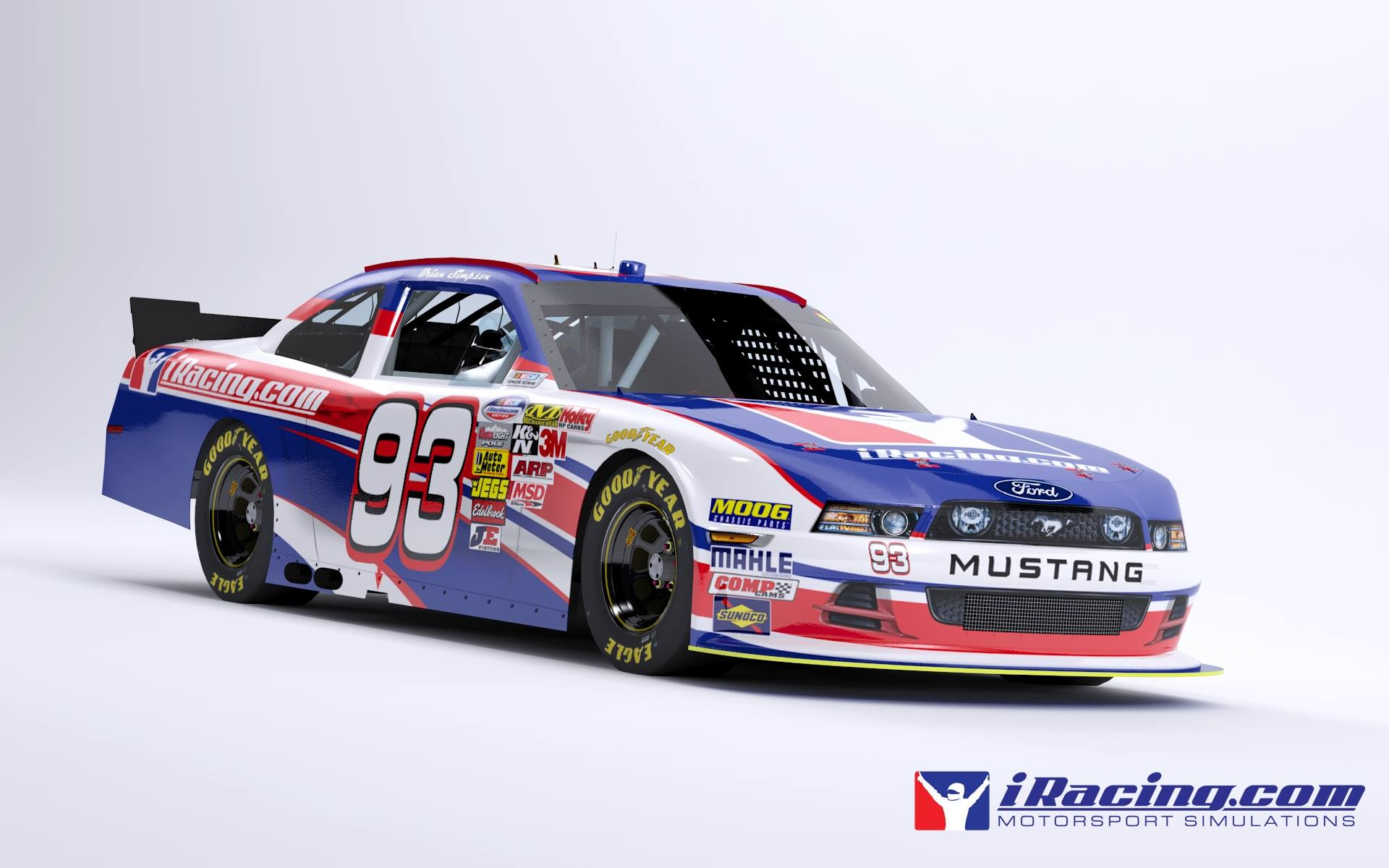 Iracing Com Mustang Nationwide Render Virtualr Net