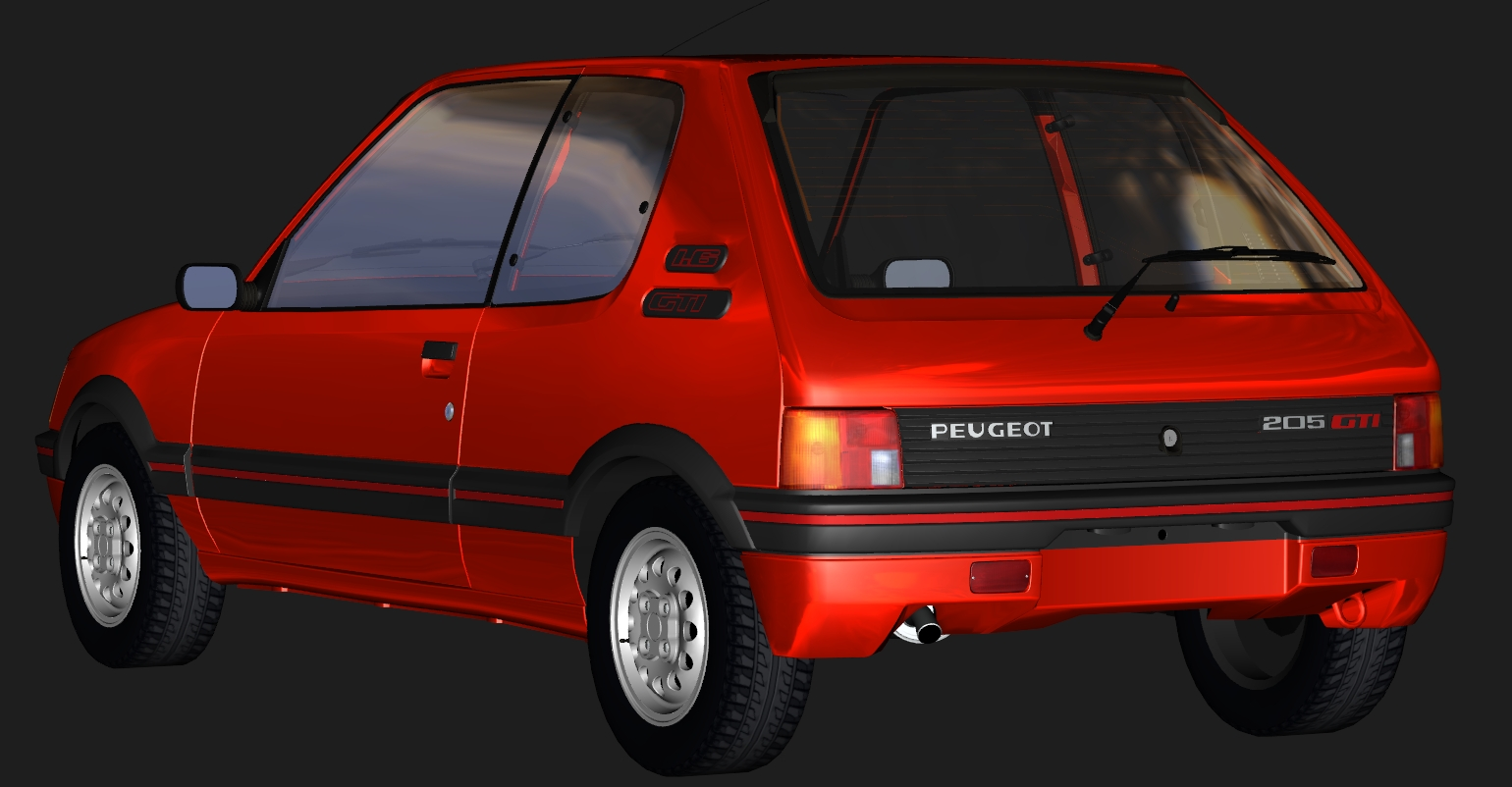 Assetto Corsa Car Mods on peugeot 205 gti rally