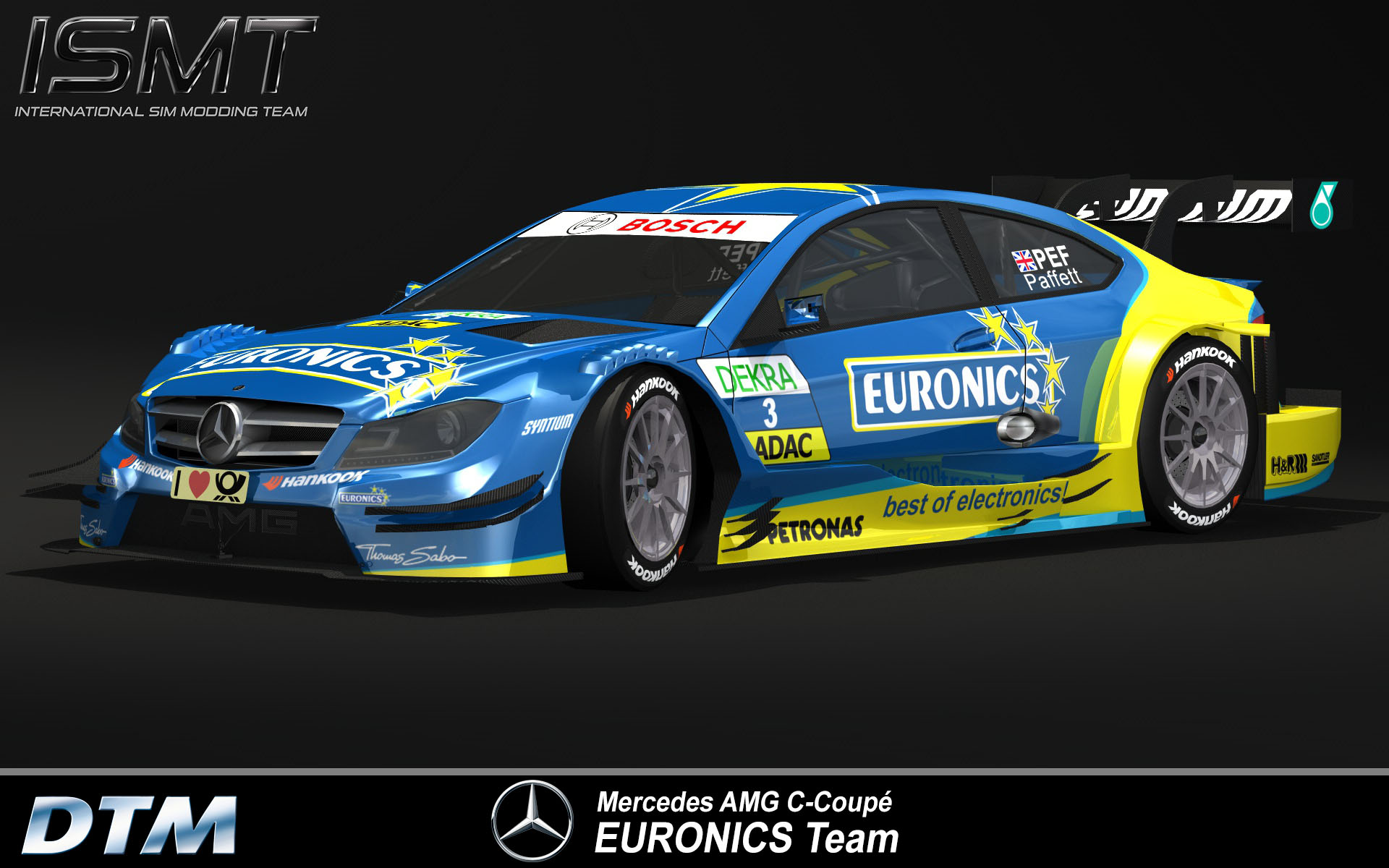 Dtm 2013 for rfactor first previews sim for R factor windows