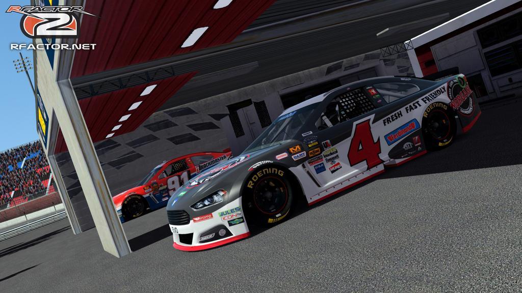 rFactor 2 – New Gen6 Stock Car Previews – VirtualR.net – Sim Racing News