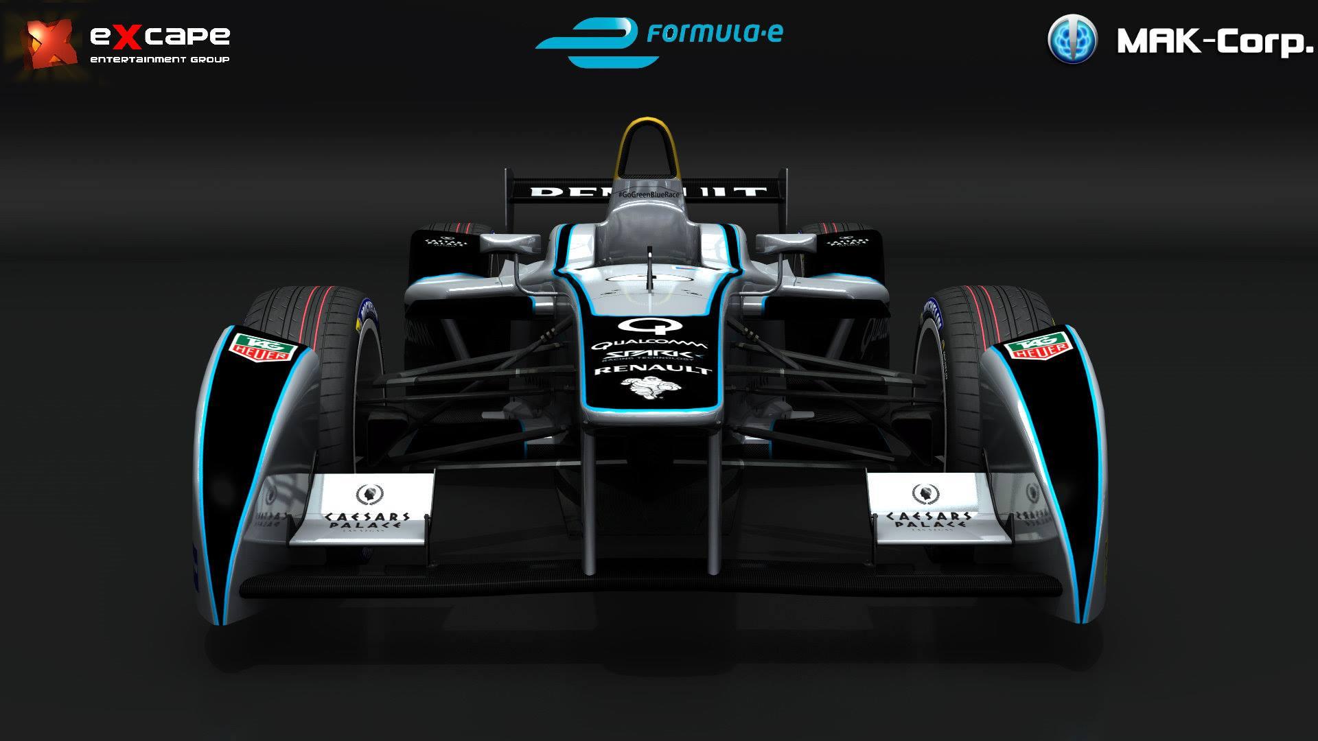 mak corp formula e car unveiled  u2013 virtualr net  u2013 100