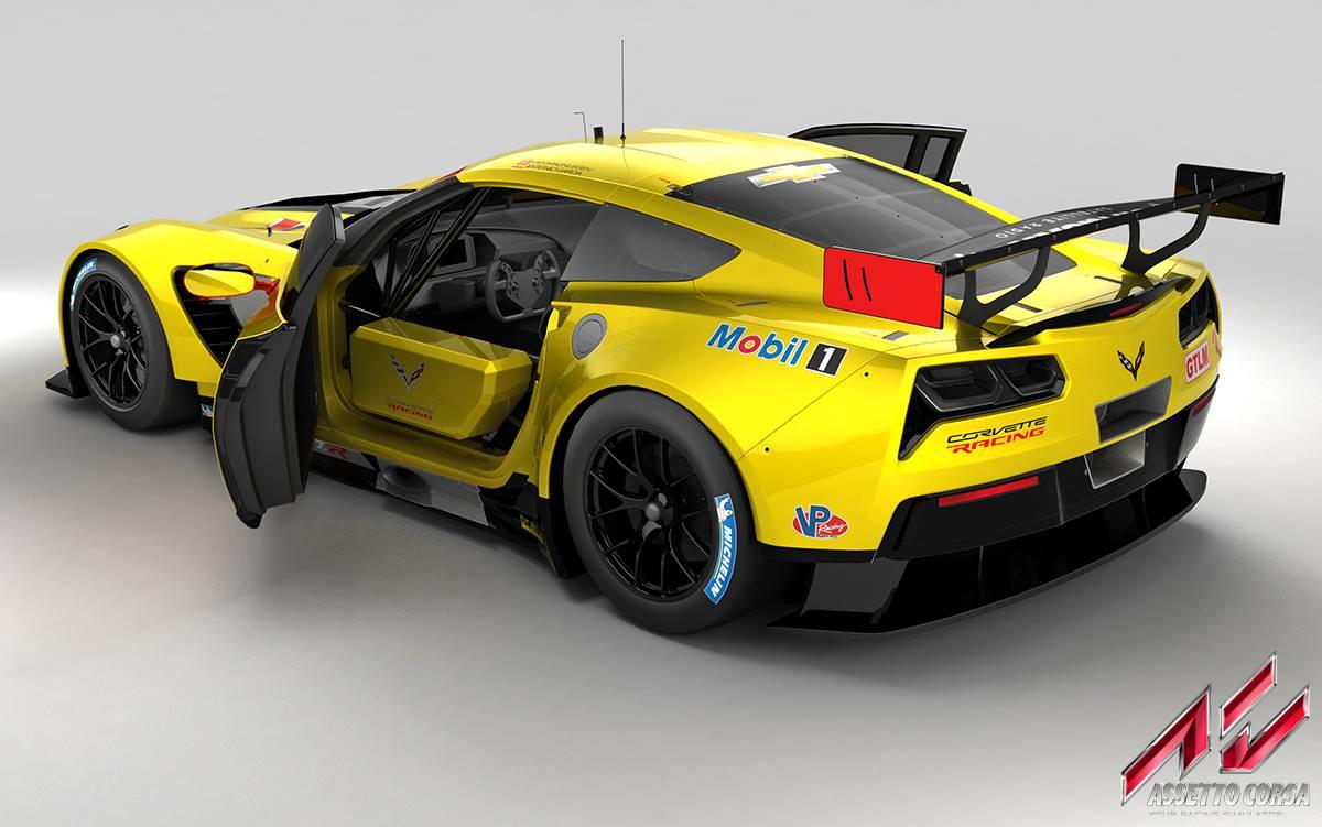 assetto corsa new corvette c7 r previews. Black Bedroom Furniture Sets. Home Design Ideas