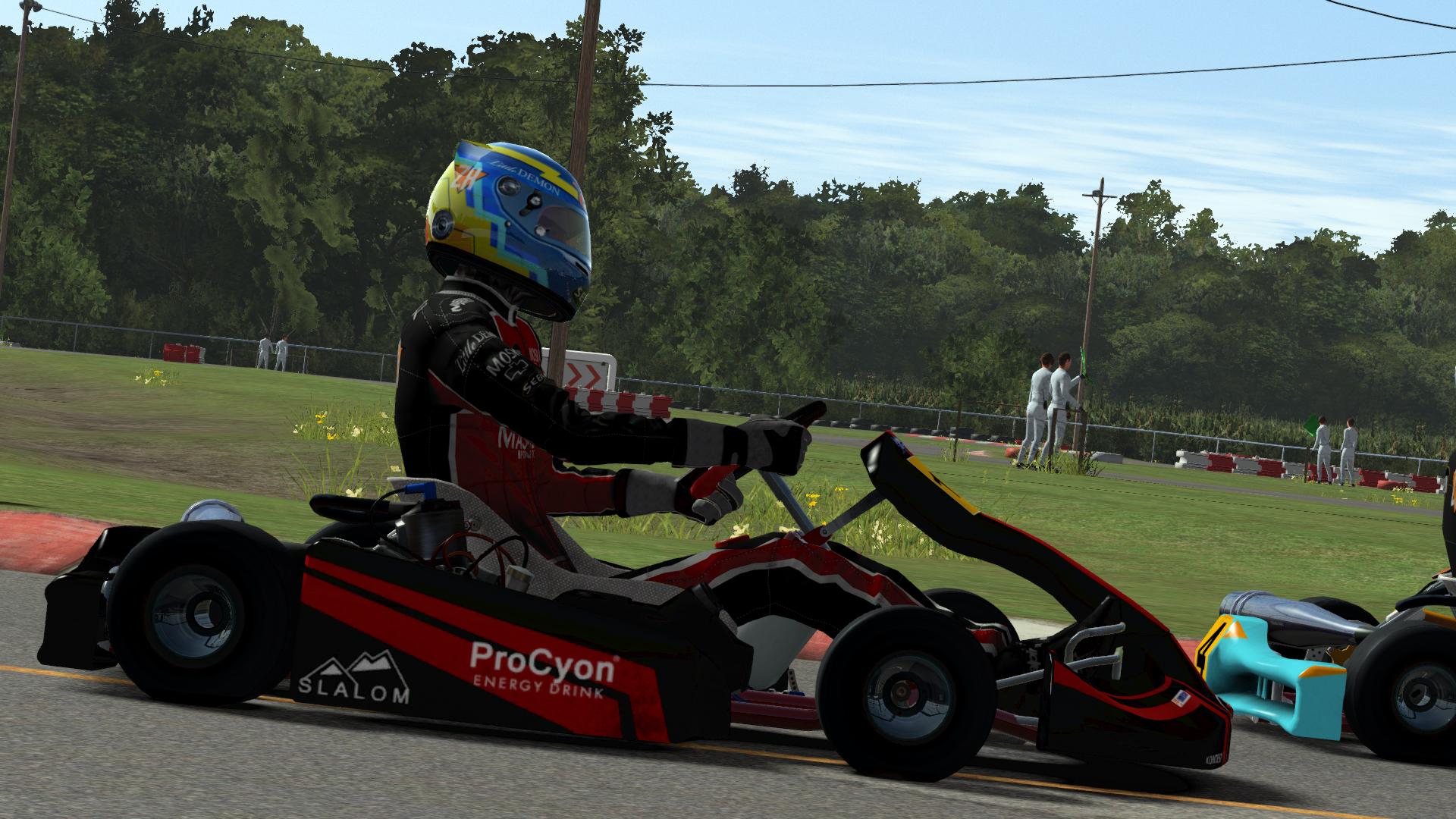 Rfactor 2 karts released sim racing news for Go kart interieur quebec