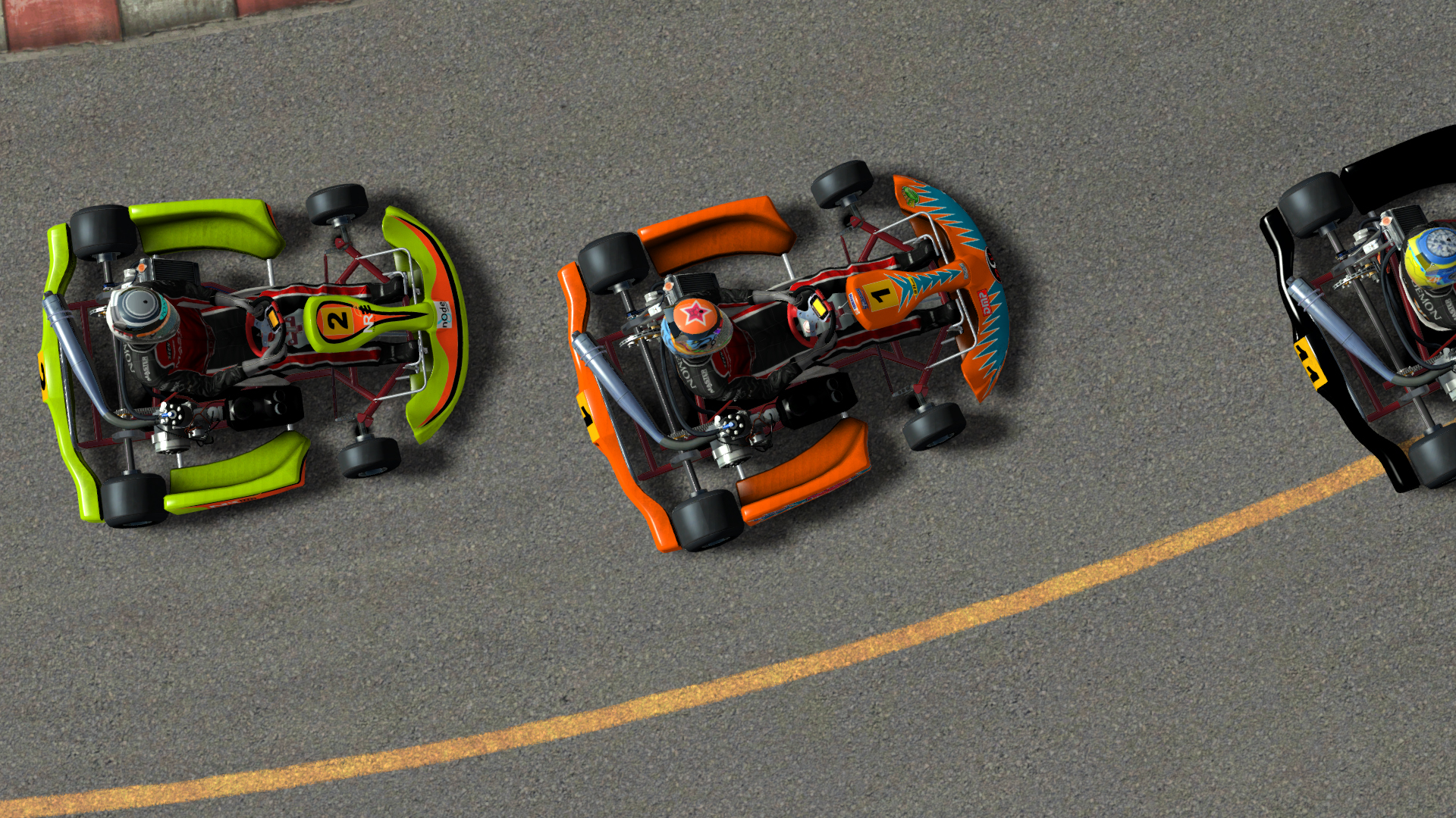 Rfactor 2 karts released sim racing news for Go kart interieur quebec