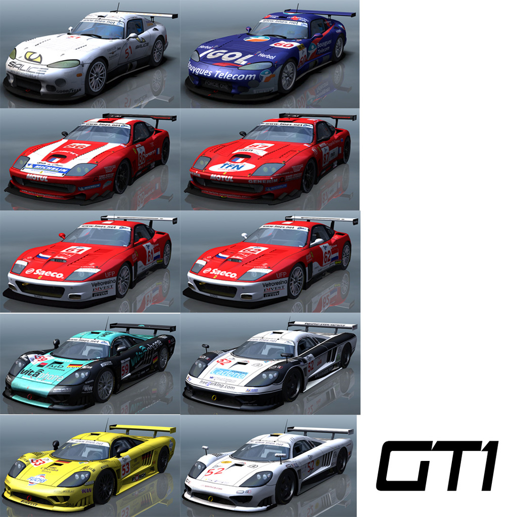 2004 LMES GT Pack – Released – VirtualR.net – Sim Racing News