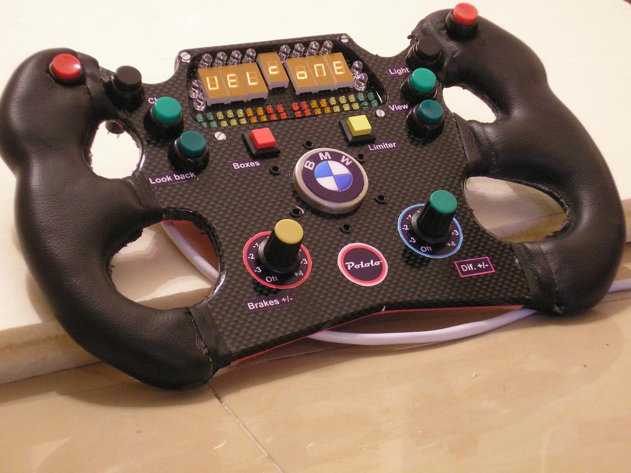 bmw f1 wheel for g25 sim racing news. Black Bedroom Furniture Sets. Home Design Ideas