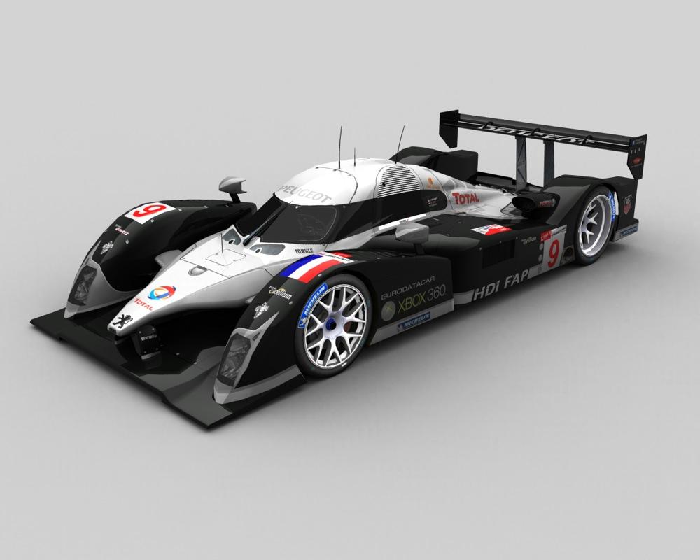 Le mans race cars for Garage peugeot le mans
