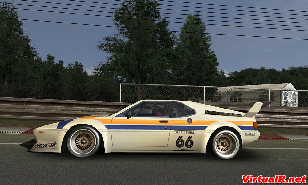 BMW M1 Procar 1979-1980 2.1 – Released – VirtualR.net – Sim Racing News