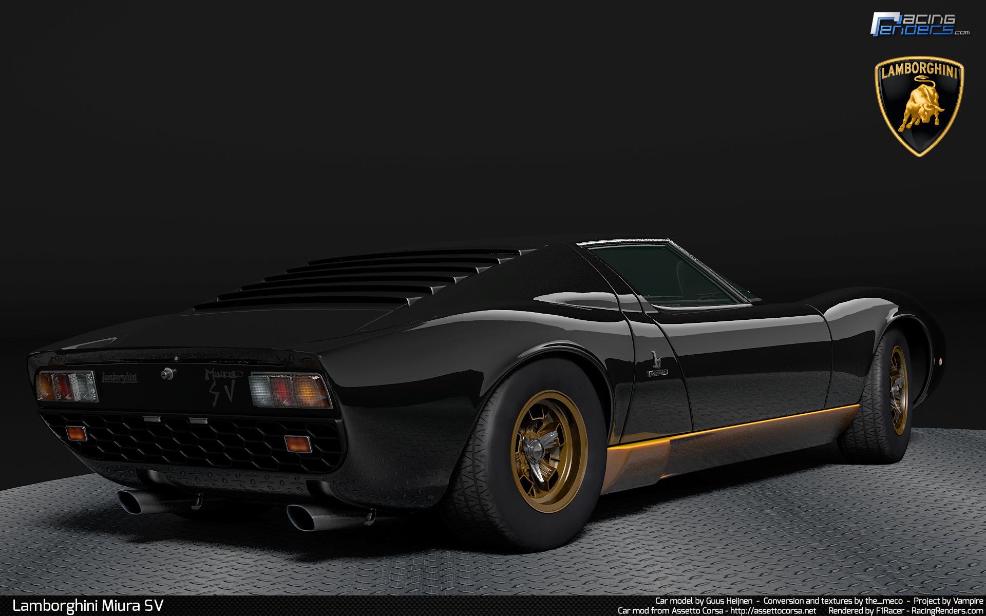 Lamborghini miura assetto corsa