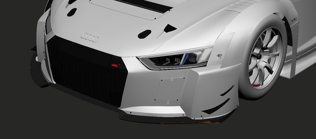 gt3 mod for project cars new audi preview 100 independent sim racing news. Black Bedroom Furniture Sets. Home Design Ideas