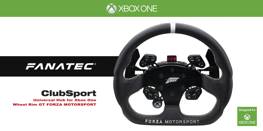 fanatec forza motorsport racing wheel unveiled virtualr. Black Bedroom Furniture Sets. Home Design Ideas