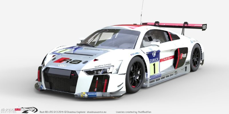 gt3 mod for project cars more audi previews sim racing news. Black Bedroom Furniture Sets. Home Design Ideas
