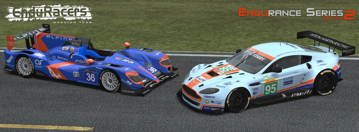Endurance Series for rFactor 2 – Road Map Revealed – VirtualR net
