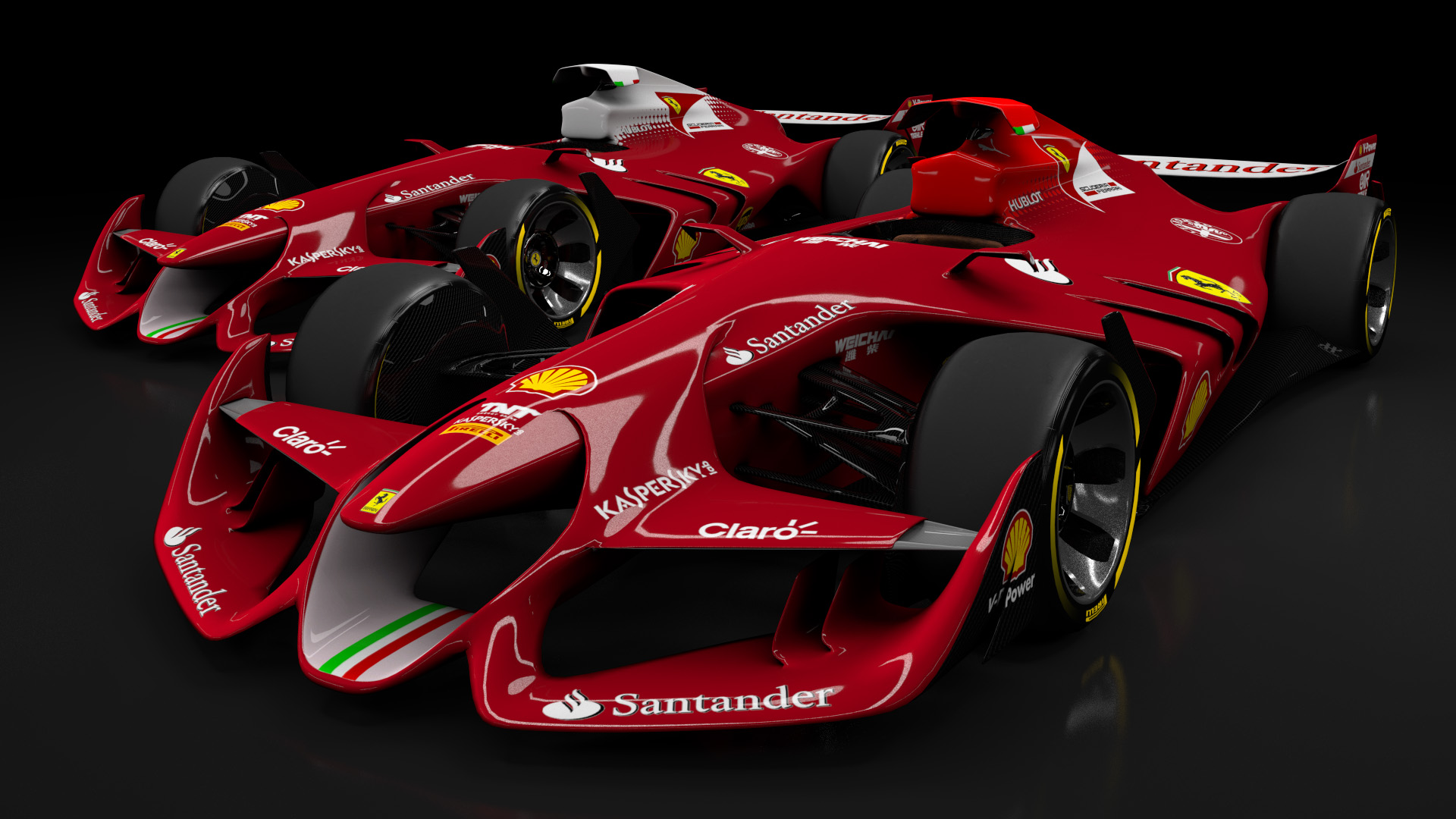Ferraris F1 Concept Car Made For Assetto Corsa  WTF1