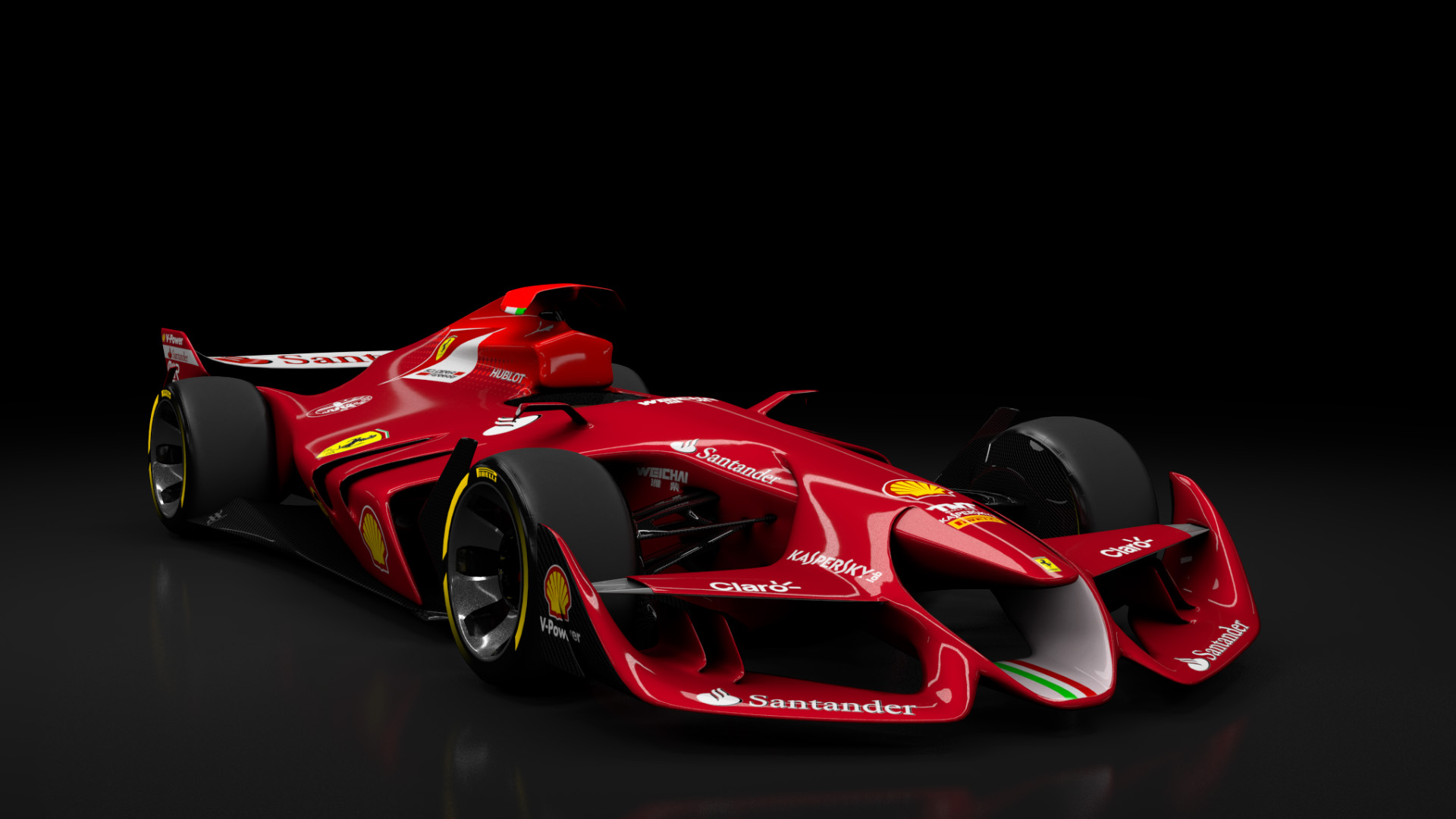 ferrari f1 concept for ac released sim racing news. Black Bedroom Furniture Sets. Home Design Ideas