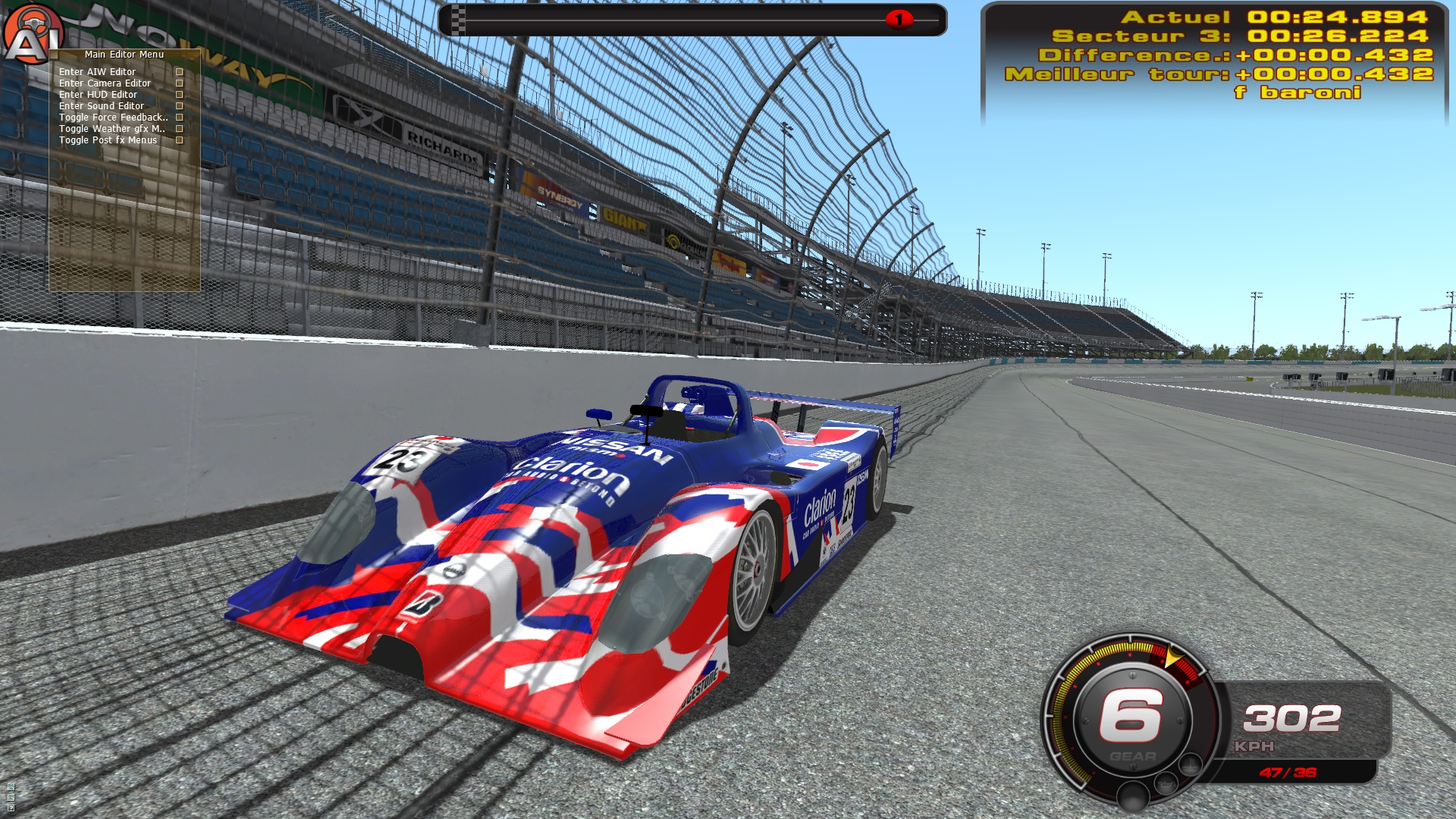 Превью Le Mans 1999 на rFactor 2