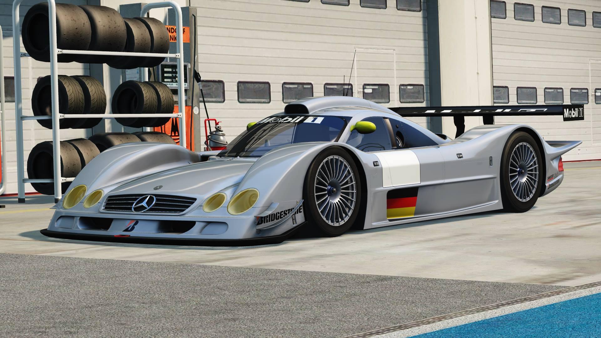 Assetto Corsa & rF2 – Mercedes CLR-LM Previews – VirtualR