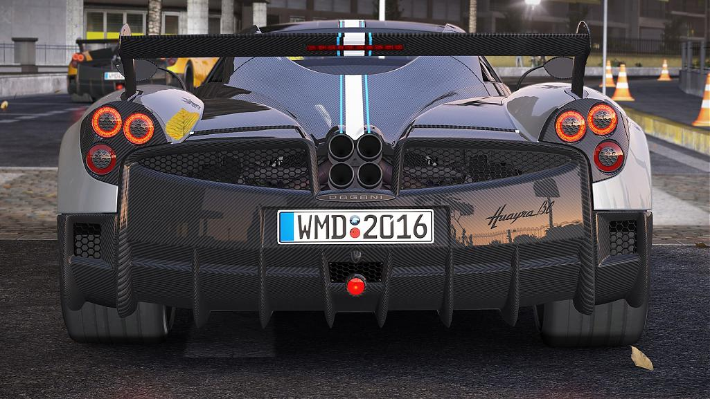 Project CARS – Pagani Huayra BC Previews – VirtualR.net – Sim Racing ...