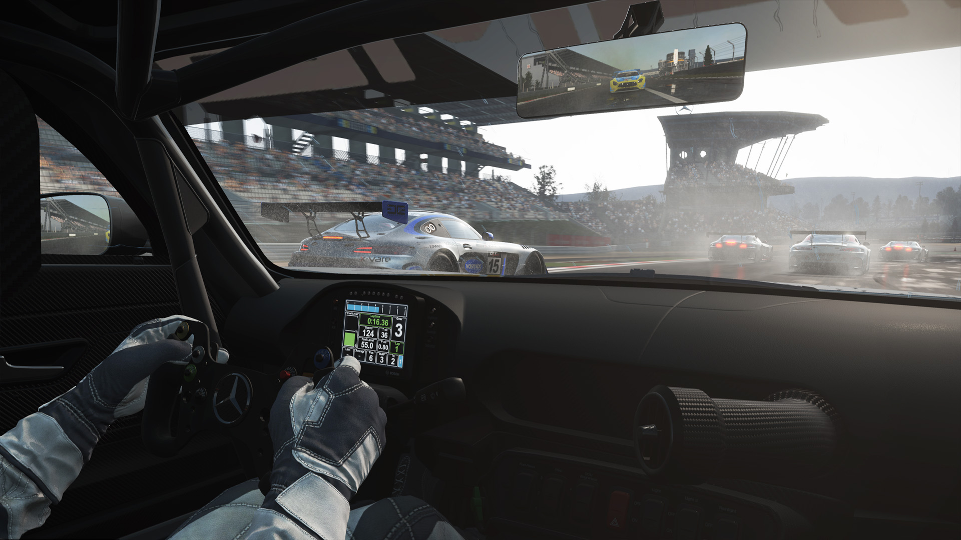 Project cars new mercedes amg gt3 previews virtualr sim racing - Ss134935_1