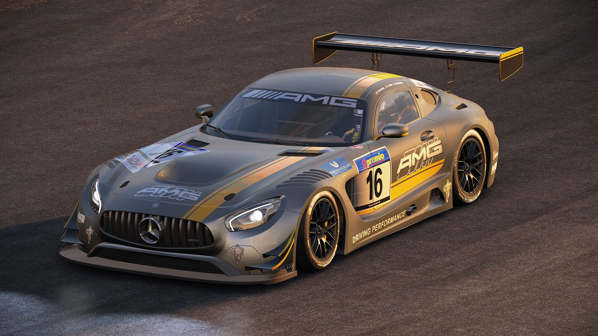 Project cars new mercedes amg gt3 previews virtualr sim racing - Ss144043_1