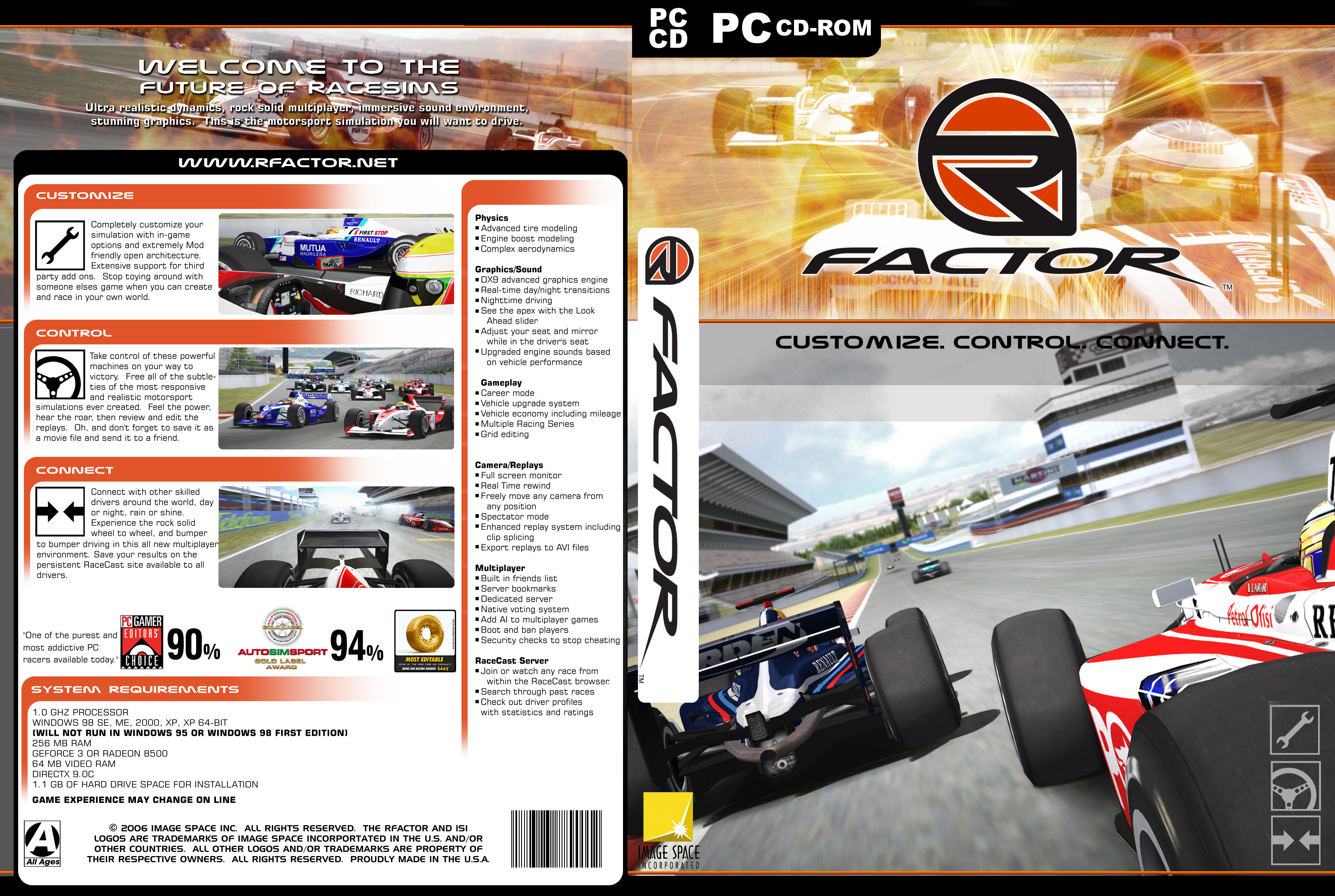 Alternate Rfactor Covers Released Virtualr Net Sim