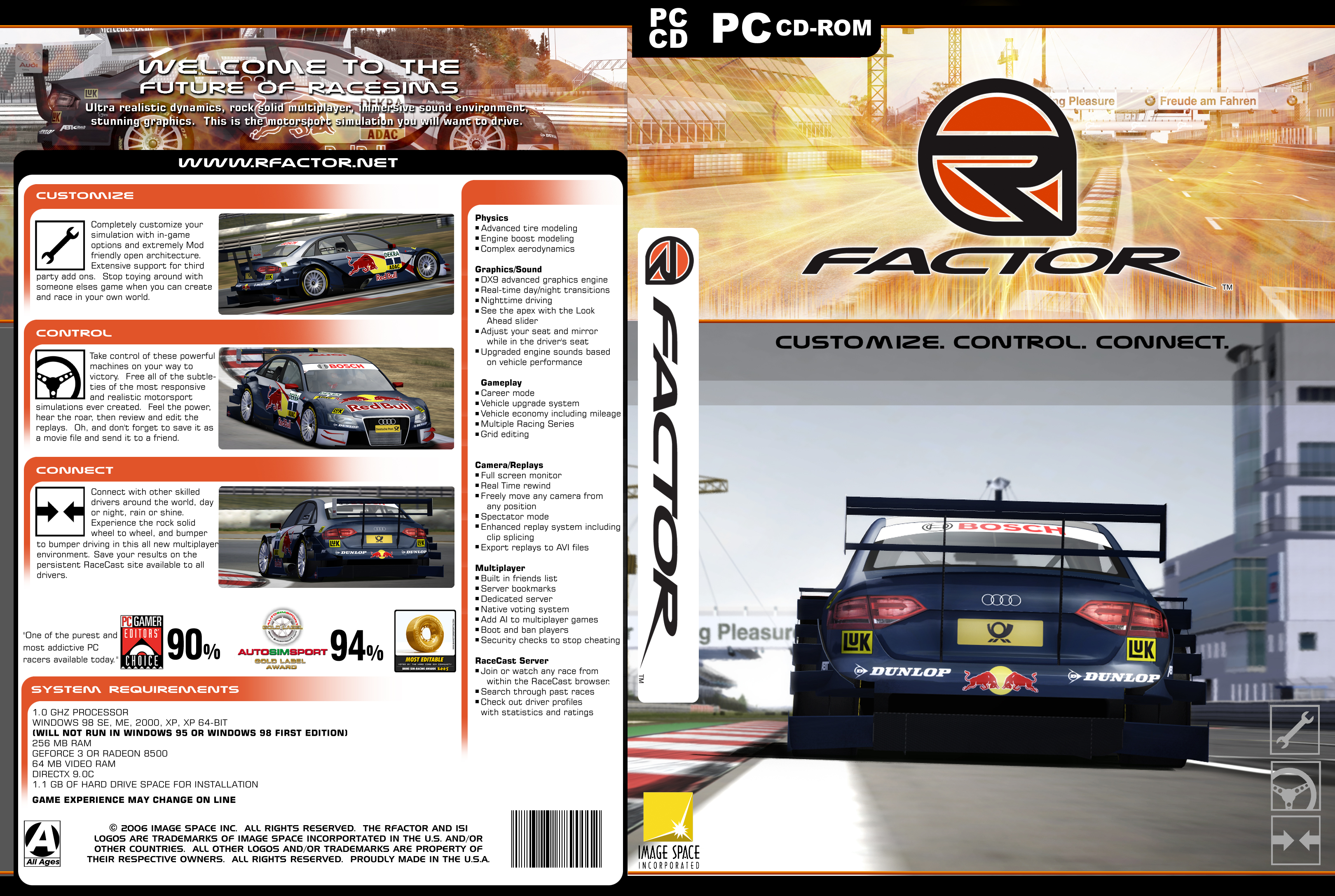 Alternate rfactor covers released sim for R factor windows