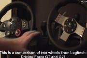 Logitech Driving Force GT & G27 – Video Comparison