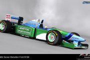 F1 1994 by F1-S-R &#8211; Benetton B194 Renders
