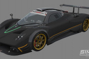 GTR3 &#8211; First Pagani Zonda R Previews