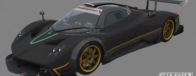 GTR3 – First Pagani Zonda R Previews