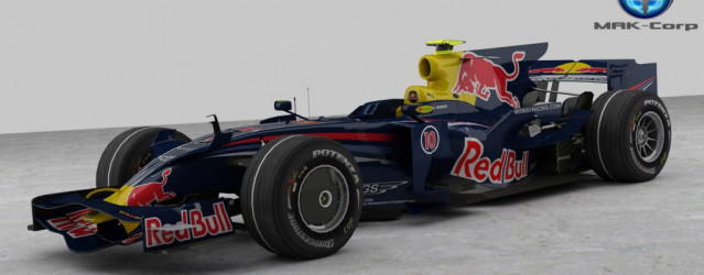 F1 2008 by Mak Corp – Red Bull RB4 Renders