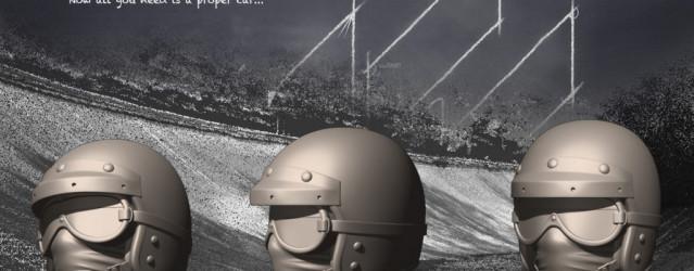 Assetto Corsa – Historic Helmet Previews