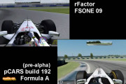 Project CARS vs rFactor – Video Comparison