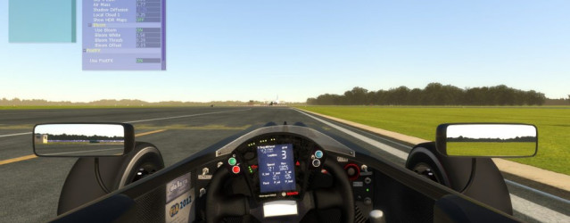 Formula 3 Italia F309 for rFactor 2 – Cockpit Previews